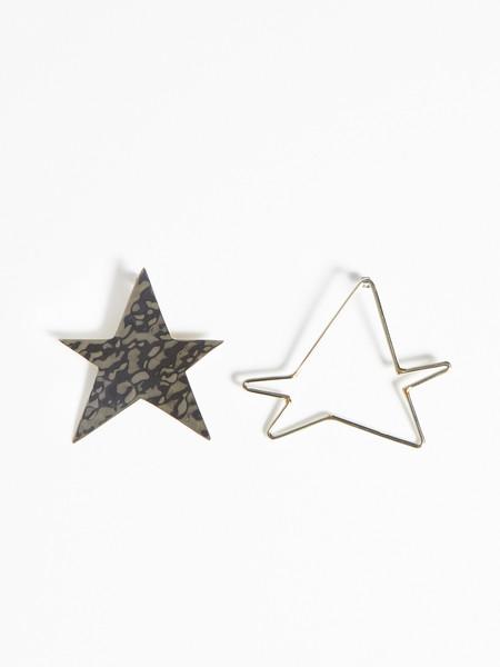 Anndra Neen Ying Yang Star Earrings