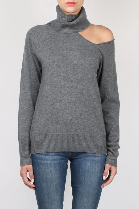 Skin Split Turtleneck Sweater