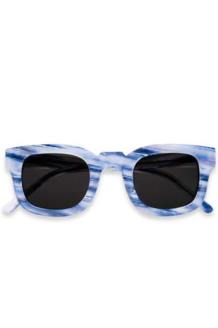 Sun Buddies Acetate Sissy Sunglasses-Tie Dye