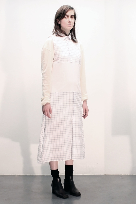 House of 950 displaced placket dress