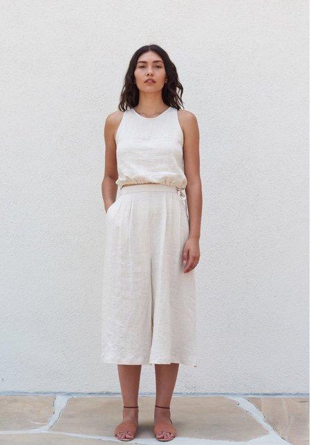 First Rite Pleated Skirt - Khaki