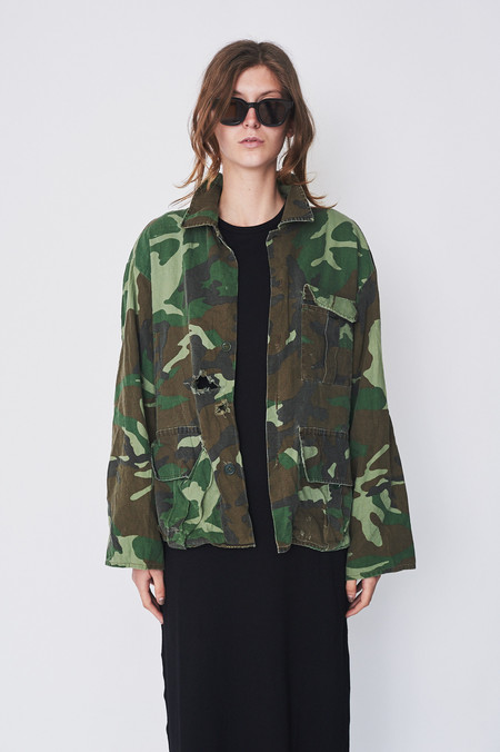 Assembly Vintage Camo Duck Bay Coat