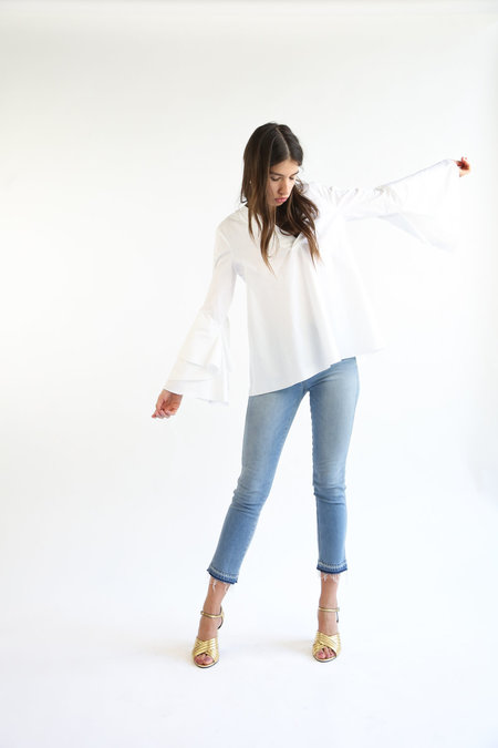 Collection Rose Top - White