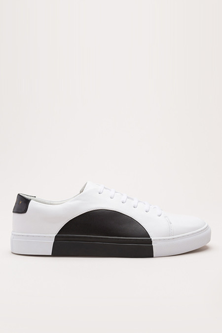 They New York Leather Circle Low