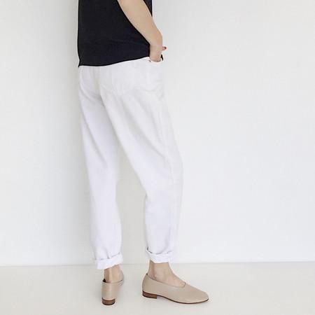 Johan Vintage White Jeans