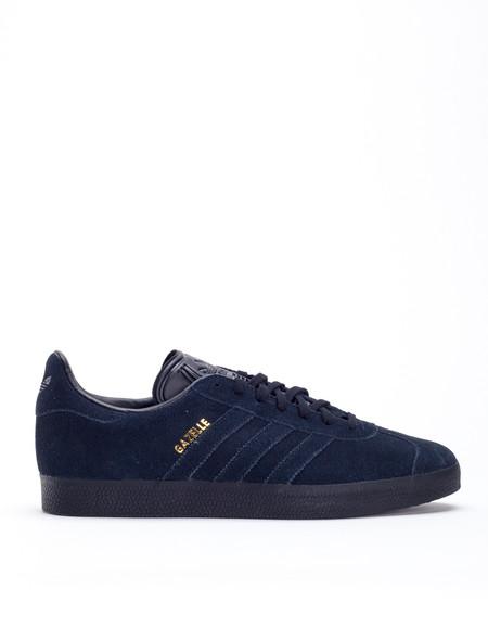 Adidas Gazelle Core Black Black Gold