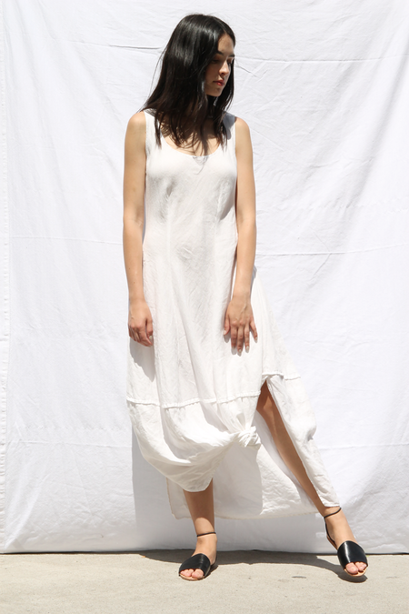 DUO NYC VINTAGE LINEN TANK DRESS