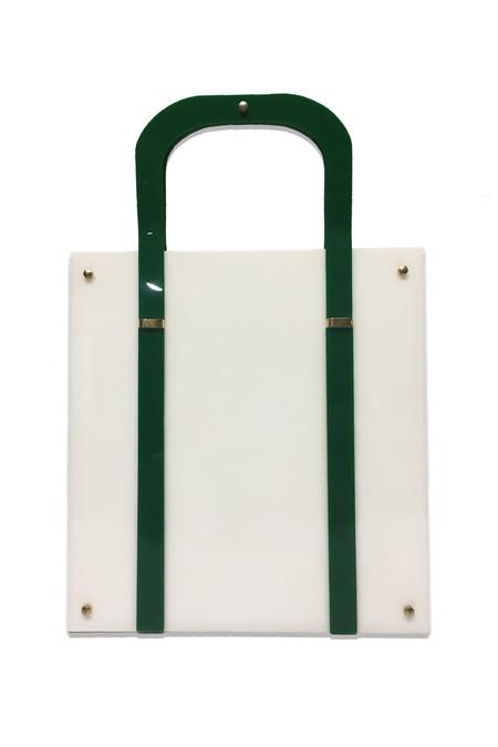 assembly Vintage Acetate Handbag