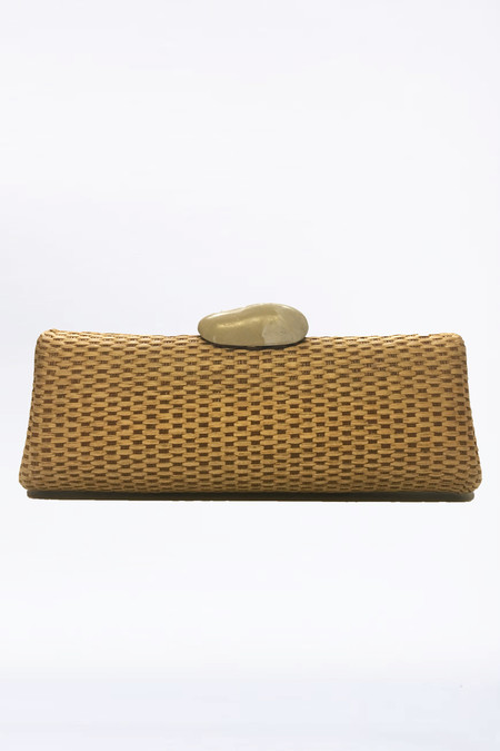assembly Vintage Woven Clutch