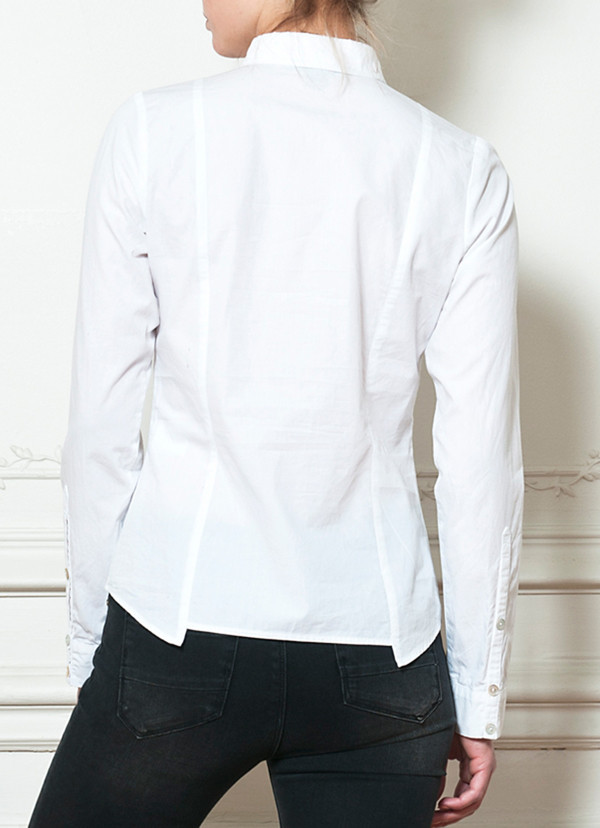 Cotelac Off-White Shirt