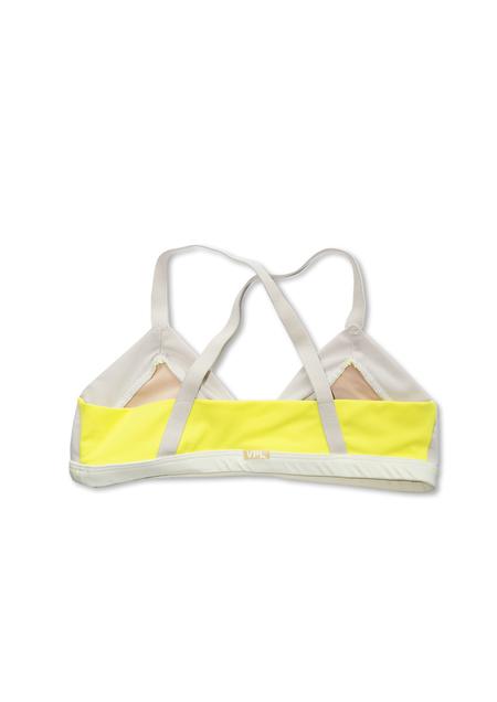 GARMENTORY EXCLUSIVE | VPL Ecru/Yellow Tani Bra
