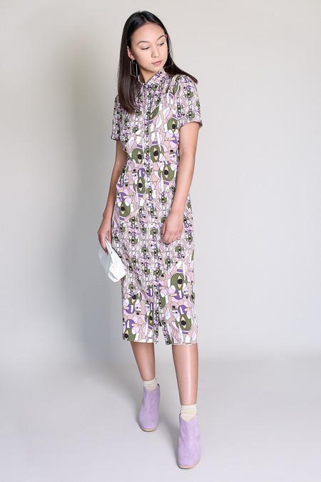 Rachel Comey Paradiso dress in blush