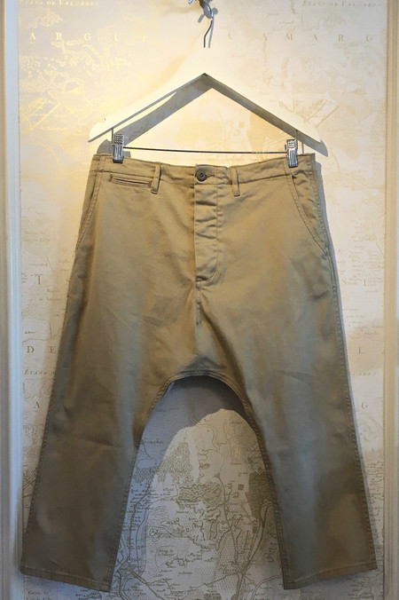 R13 Vintage Drop Crotch Chino
