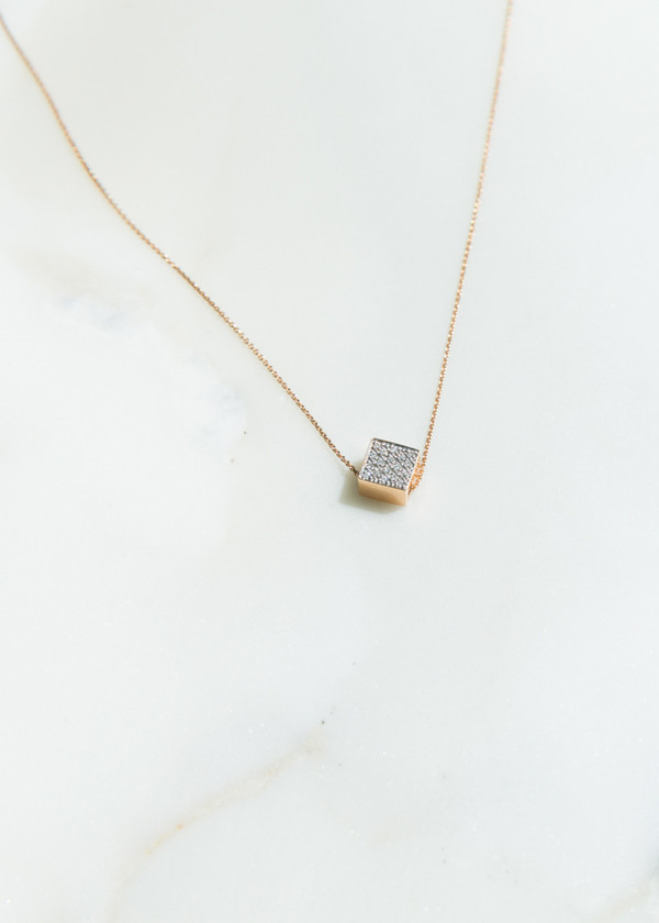 Ginette NY Baby Diamond Ever Necklace