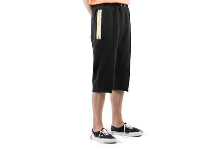 Mr Completely 3/4 SWEAT PANT - BLACK