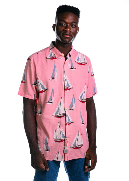 Barney Cools Yacht Club SS - Pink