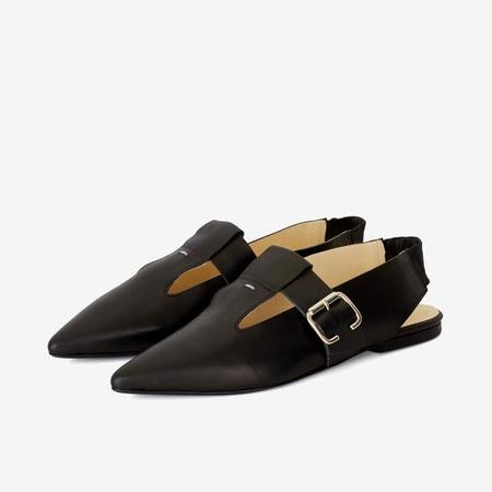 TERHI POLKKI ELLEN POINT TOE - BLACK