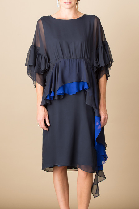 Rachel Comey Tousle Dress In Midnight