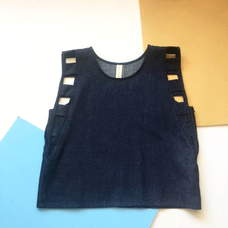 EVE GRAVEL MEMPHIS BLUES - DENIM INDIGO