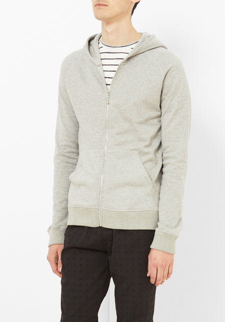 Armoire Officielle Gray Hooded Sweatshirt