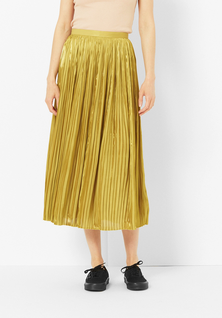 Tibi Pleated Flume Skirt