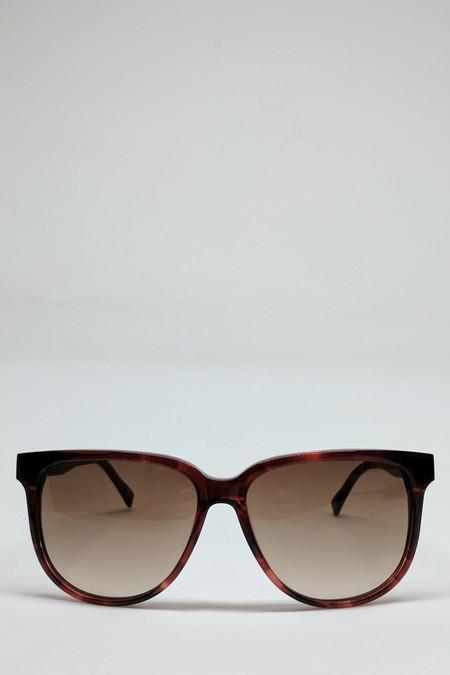 Shwood McKenzie Sunglasses // Sangria/Ebony