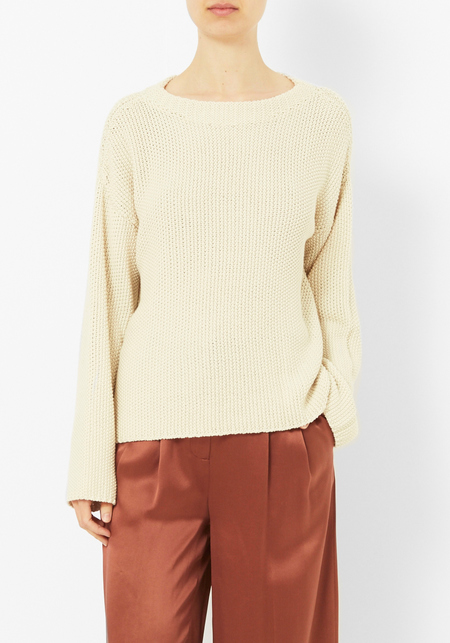 Micaela Greg Cream Seed Sweater