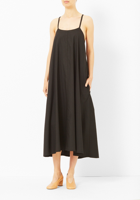 Micaela Greg Black Dome Dress