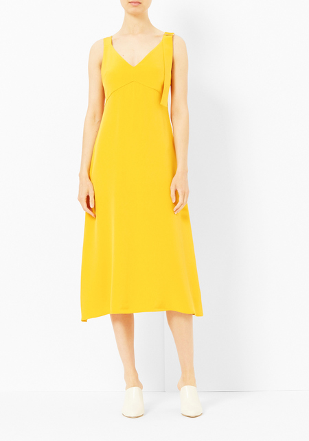 Tibi Mango Trapeze Dress
