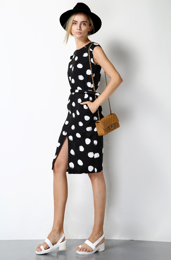 Few Moda Polka Dot Dress