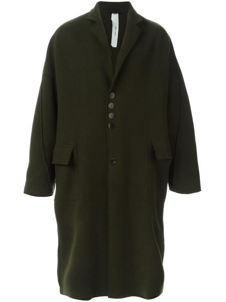 Damir Doma Dark Moss Wool Coat