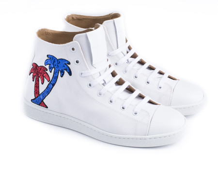 Marc Jacobs Palm High Top Sneakers