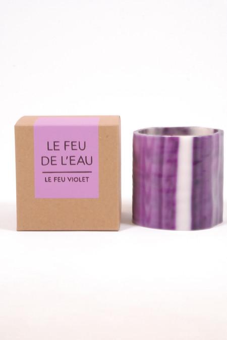Le Feu De L'eau Purple- Grapefruit and Tobacco