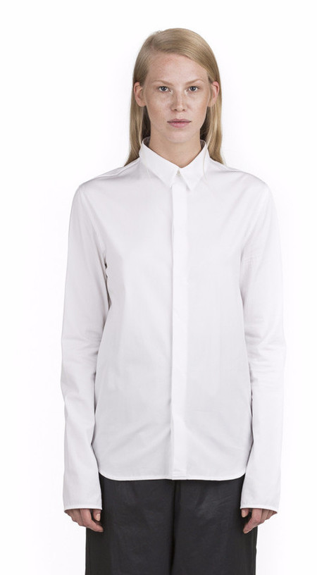 Unisex Y/project Tailored White Shirt