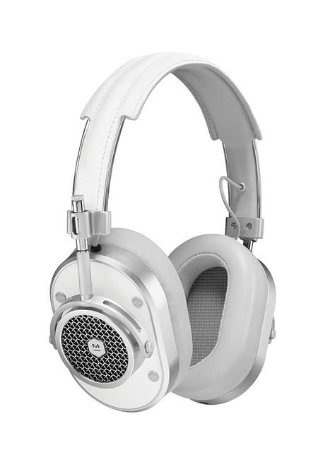 Master & Dynamic White MH40 On Ear Headphones