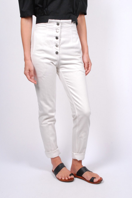 Rachel Comey Dock Pant - Dirty White