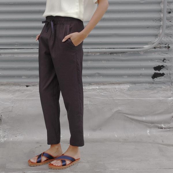 Nikki Chasin Draper Drawstring Indigo Pant