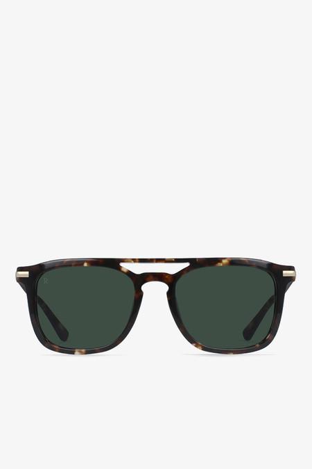 Raen Optics Kettner sunglasses in brindle tortoise