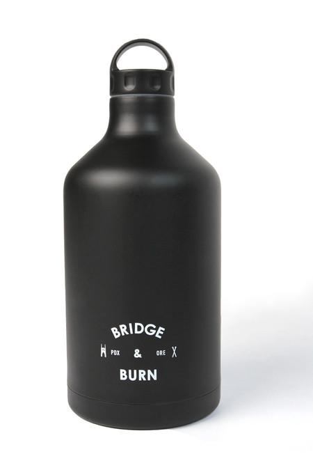 Shine Vessels Bridge & Burn x Shine Vessel Growler Matte Black