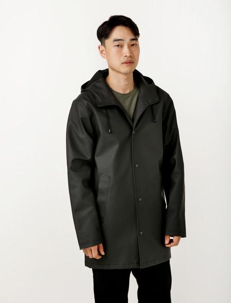 Stutterheim Arholma Raincoat Black