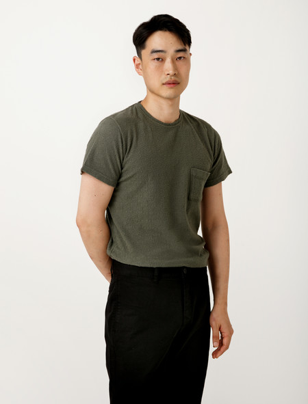 Norse Projects Niels Japanese Pocket Dried Olive
