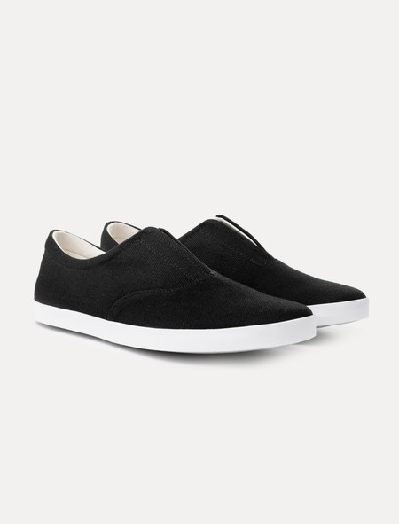 Lemaire Mens Slip On White Sole Sneakers