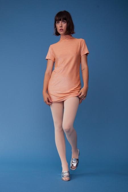 Lindsey Thornburg Sherbet Mockneck Dress