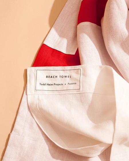 Todd Heim Steps Linen Beach Towel