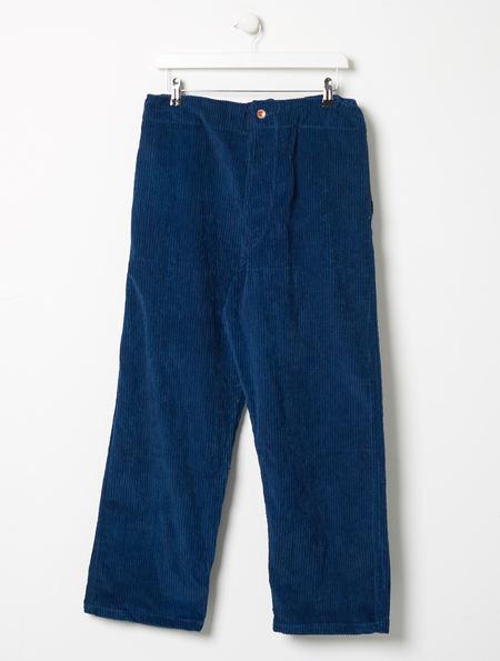 Story MFG British Jeans Indigo Corduroy