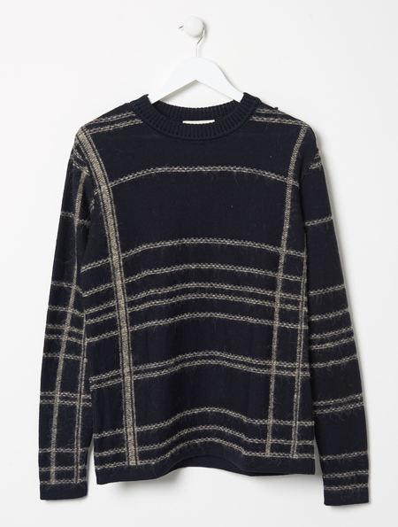 Stephan Schneider Plaid Knitted Jumper Hand