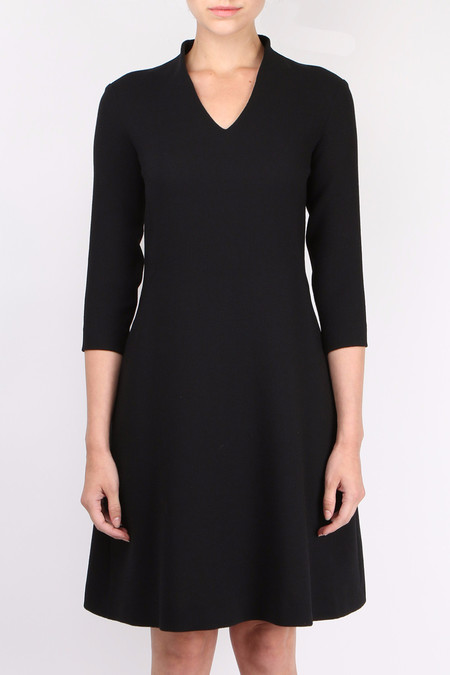 Antonelli V Neck 3/4 Sleeve Dress