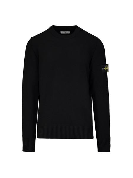 Stone Island Lambswool Crewneck Sweater