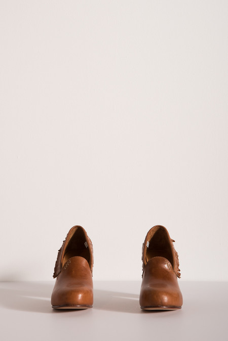 Visvim Sitka Pumps in Brown