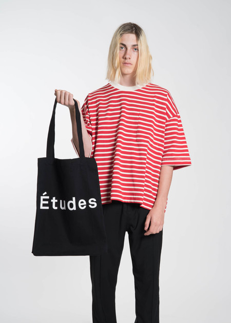 Etudes Black October Tote Bag
